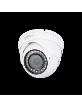 Caméra tube blanche HD-CVI Dahua résolution 1,4 Mégapixels, objectif 2,7 - 12 mm motorisé, portée infrarouge 30 m