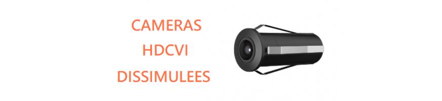 Caméras HDCVI Dissimulées