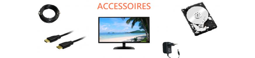 Câbles, Alimentation, Disques Durs, Ecrans et supports | Microview