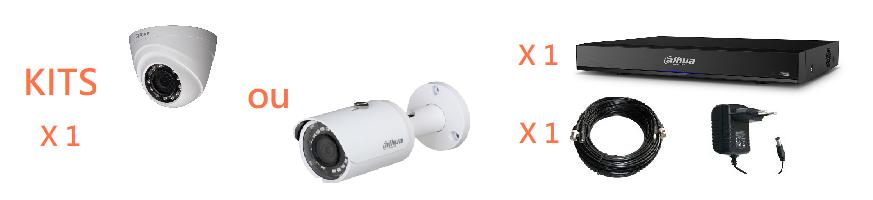 Kit vidéosurveillance 1 caméra | Microview