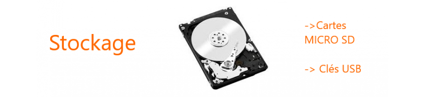Stockage : Disques Durs, Clés USB et Cartes MICRO SD | Microview